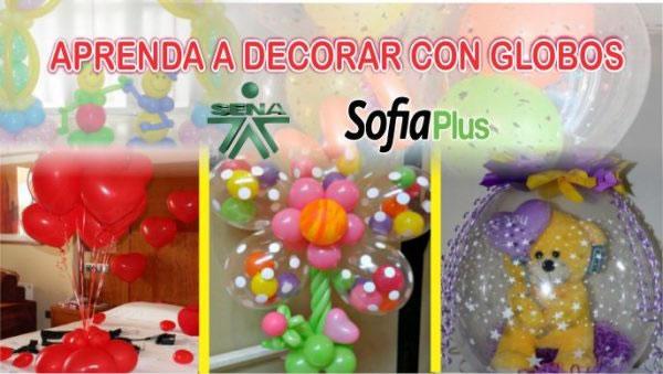 Curso Sena Decoración Con Globos